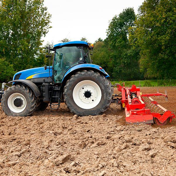 Préparation des sols avec outil animé