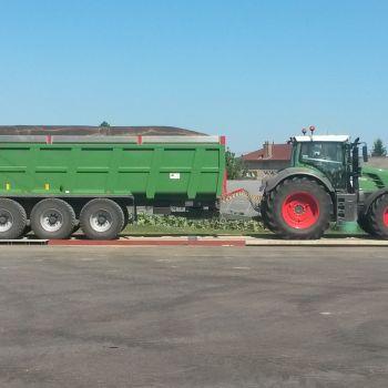 La pesée des récoltes
